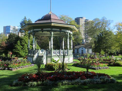 The Halifax Public Gardens in Halifax, Nova Scotia