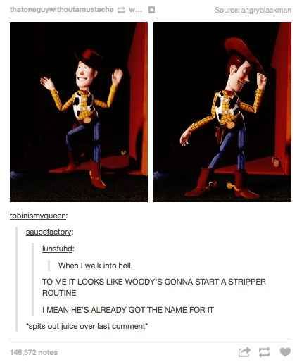Toy Story will never be the same again.