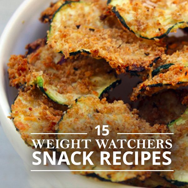 15 Weight Watchers Snack Recipes