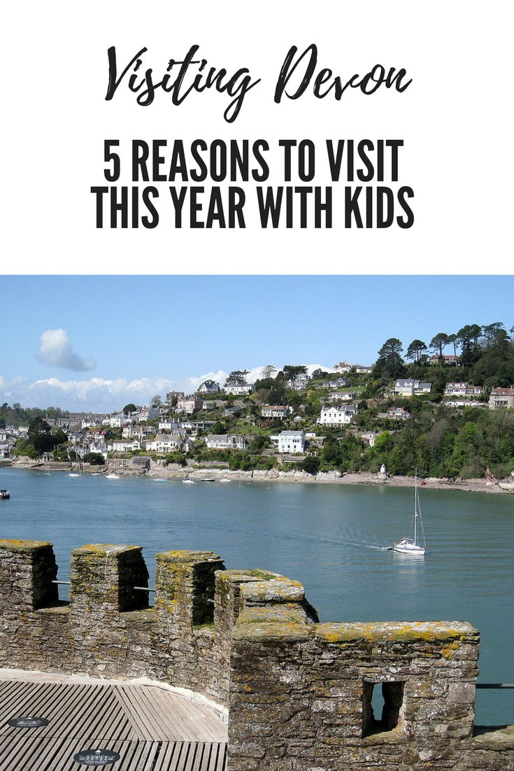 Visiting Devon 5 Reasons to Visit this year with Kids www.minitravellers.co.uk 5 Reasons to Visit Devon this year with Kids recommended by Mini Travellers and some other family travel bloggers.  Beaches It's probably what most people head to Devon for.  T