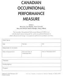 copm occupational therapy - Google Search