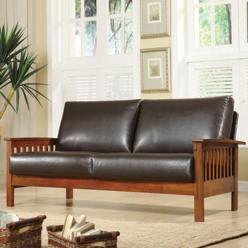 HomeHills Mission Sofa and website for arts and crafts products