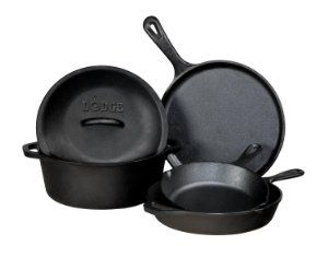 The Mediterranean Dish Holiday Gift Guide: You've seen some of this Cast Iron Cookware on the blog, I cook almost daily in them! If you properly care for your cast iron cookware, it will last you for ever! It's a kitchen tool must.