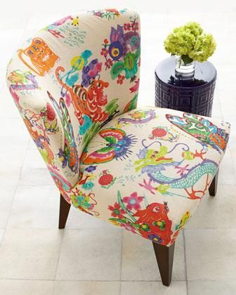 Horchow Chinoiserie Dynasty chair