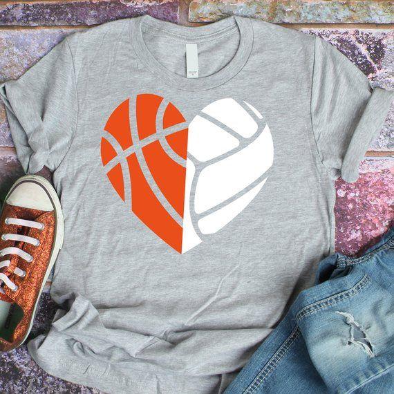 Volleyball Svg Basketball Svg Svg Dxf Mom Heart Sports Etsy Svg Dxf Vinyl Designs