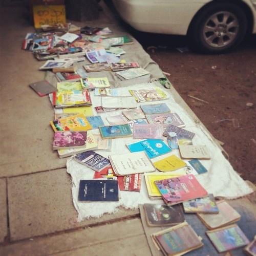 Bookshop, Yangon #wayfairer #way_fairer