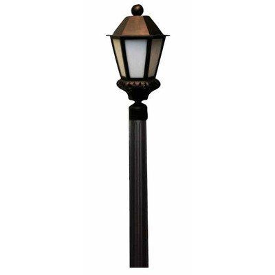 "Tuscany TC3800 Series 25.5"" Post Lantern Finish: Rusty Nail by Melissa Lighting. $315.99. TC3890-RN Finish: Rusty Nail Features: -Post lantern.-Seedy glass panel.-Electronic ballast EBPL: 13-26-32-42 (four pin).-UL Listed. Options: -Available in Black, White, Old Iron, Architectural Bronze, Rusty Nail, Old Bronze, Old World, Aged Silver, Patina Bronze and Old Copper finishes. Construction: -Cast aluminum construction. Specifications: -Accommodates(1) 150W Edison Bas..."