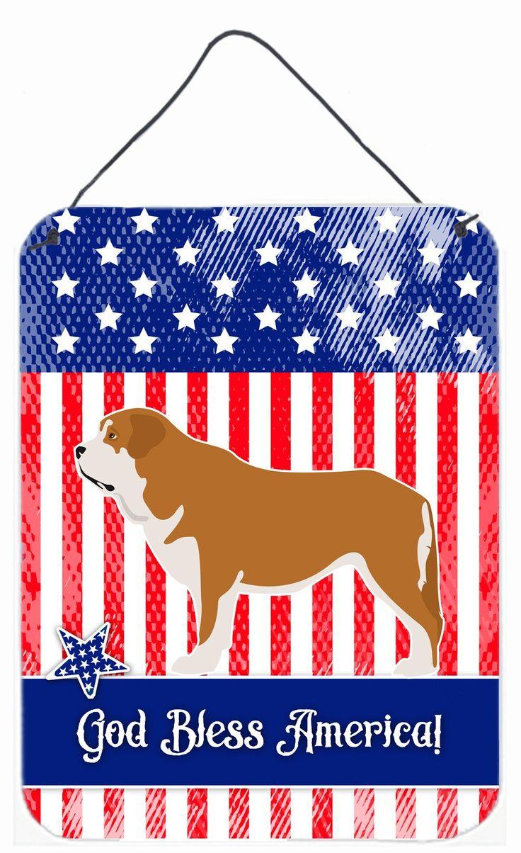 Mastin Epanol Spanish Mastiff American Wall or Door Hanging Prints BB8430DS1216