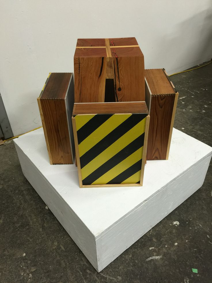 Copenhagen stool with Caution boxes