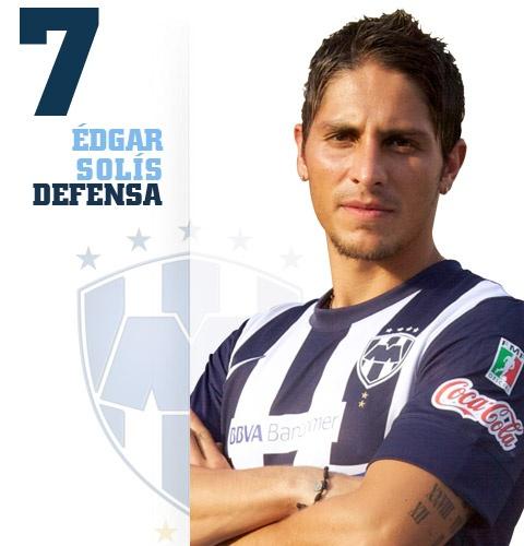 Édgar Iván Solís Castillón. Nació el 5 de marzo de 1987 en Guadalajara, Jalisco. Fecha de debut en Primera División: 28 de agosto de 2005