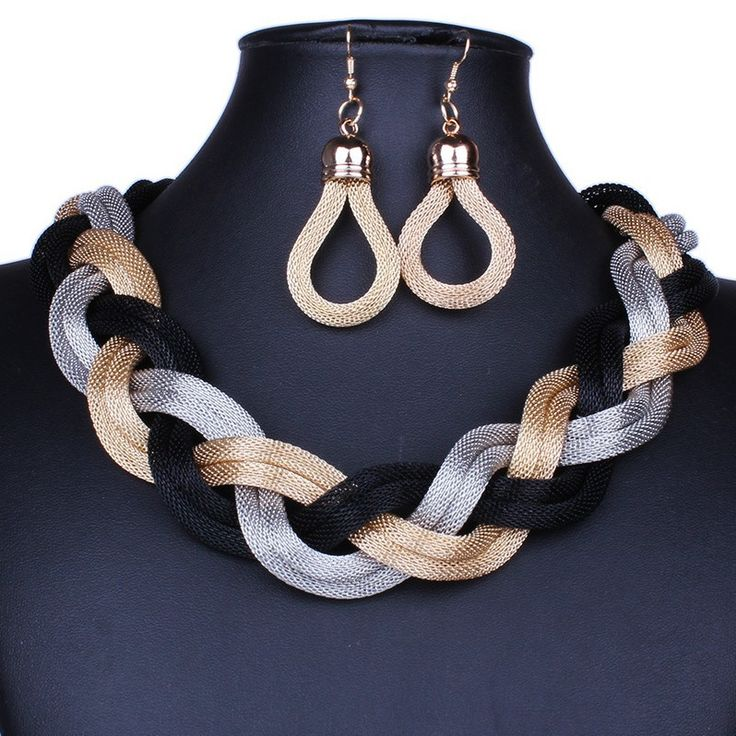 Find More Chain Necklaces Information about 2014 New Fashion Statement Necklace Jewelry Collar Chokers With Gold Chain Handmade Knot Cotton Rope Jewelry For Ladies DFX 262,High Quality chain link fence gate,China chain stock Suppliers, Cheap chain coin from Trendy Jewelry Shop on Aliexpress.com