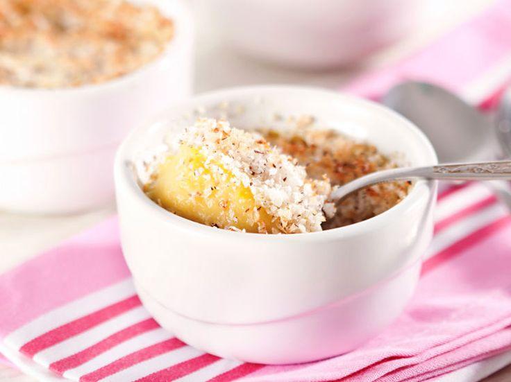 Découvrez la recette Soufflés à la noix de coco et au citron vert sur cuisineactuelle.fr.