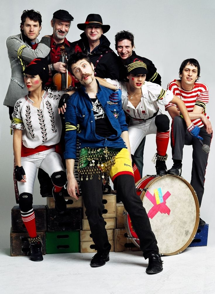 "NEWS: The gypsy punk band, Gogol Bordello, has announced the ""Gypsy Punks: Underdog World Strike 10th Anniversary Tour"" with Jessica Hernandez & The Deltas and Antemasque. Details at http://digtb.us/1iPL30P"