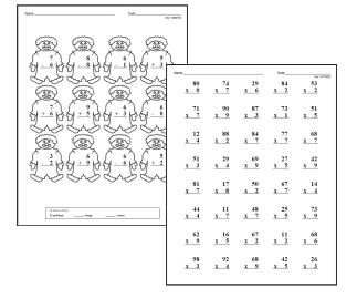 6th Grade Division Worksheets Lessons And Printables