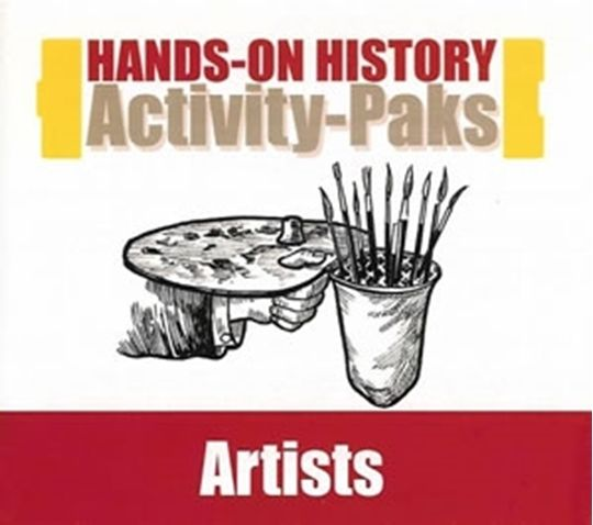 Hands-On History Activity Pak - Artists CD