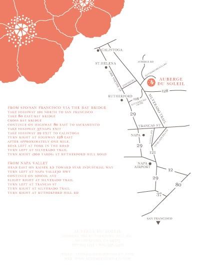 directions included! haha.. good idea.     fun wedding invitations