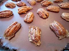 Cinnamon pecans, Chocolate tarts and Tarts on Pinterest