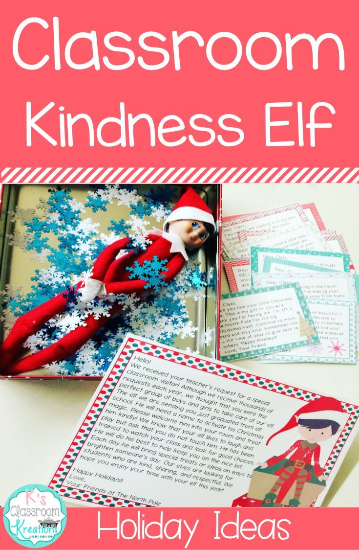 Do you have an elf visiting your classroom this holiday season?Spread holiday cheer and magic with dozens of ideas from arrival and staging to hand written acts of kindness each day.