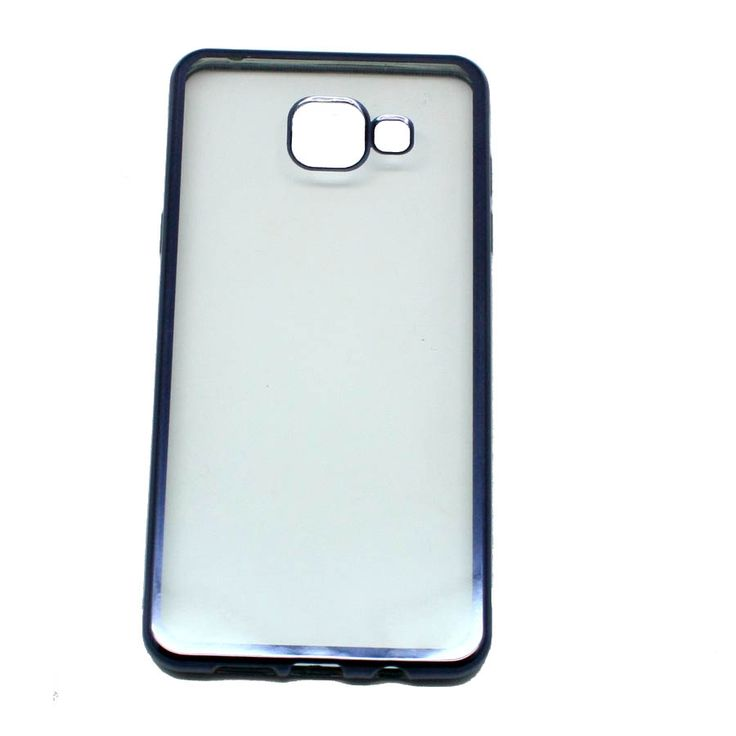 ΘΗΚΗ SAMSUNG GALAXY A5 2016 A510 METAL BACK CASE ΜΑΥΡΟ