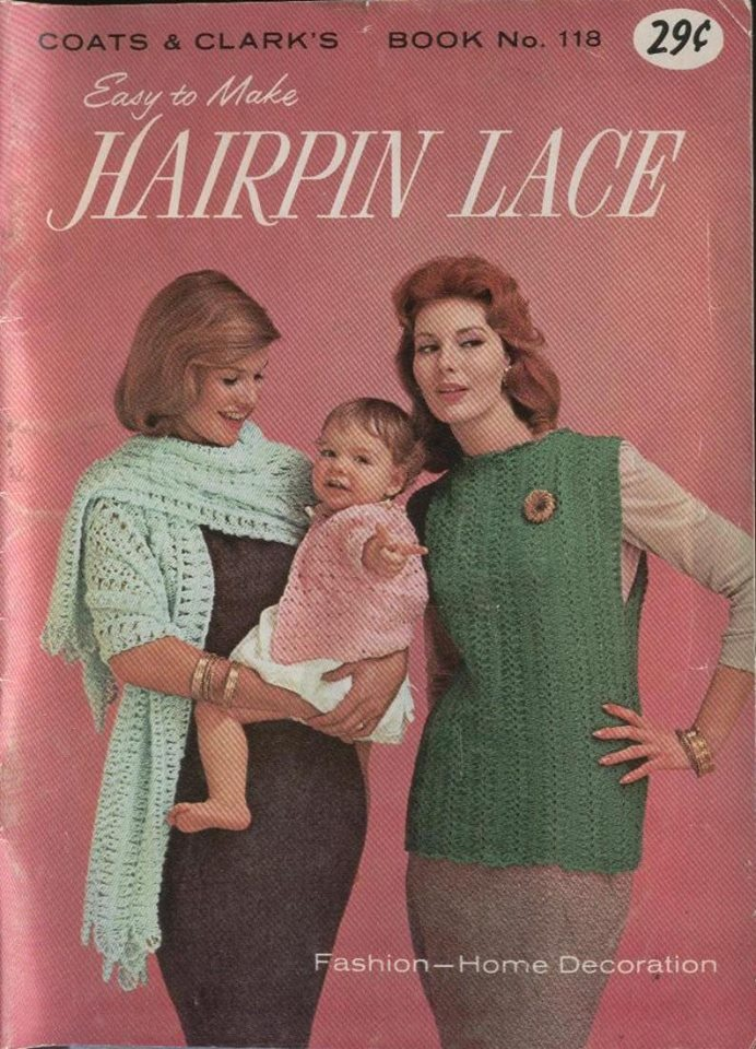 Free Vintage Easy to Make Hairpin Lace Crochet Patterns