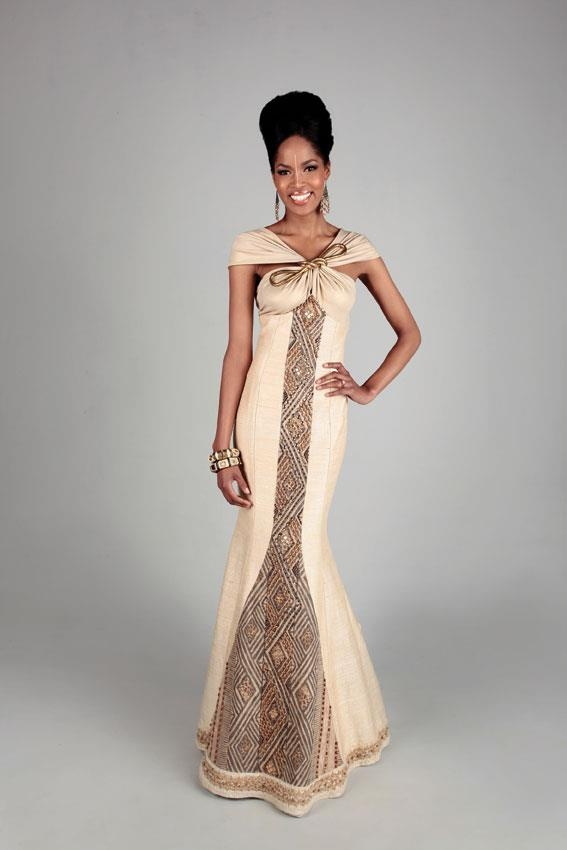 Go the traditional way, for your wedding.. how about this dress...? From www.nubianbride.co.za