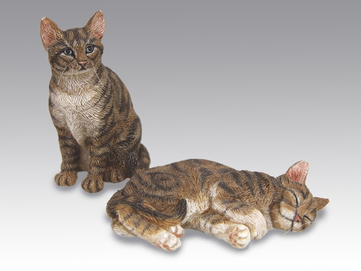 Tabby Cats By Sarah Hendry Pocket People Miniature Animals Miniature Dogs Animals Pets