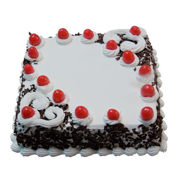 Celebrate happy occasions of your life with this stunning and graceful cake. Made with chocolate shavings and delicious cream, and available in a variety of flavors, this cake is topped with cherries to bring to you a great combination of sweetness. Buy this cake to make occasions even happier because Blackforest delights one and all!