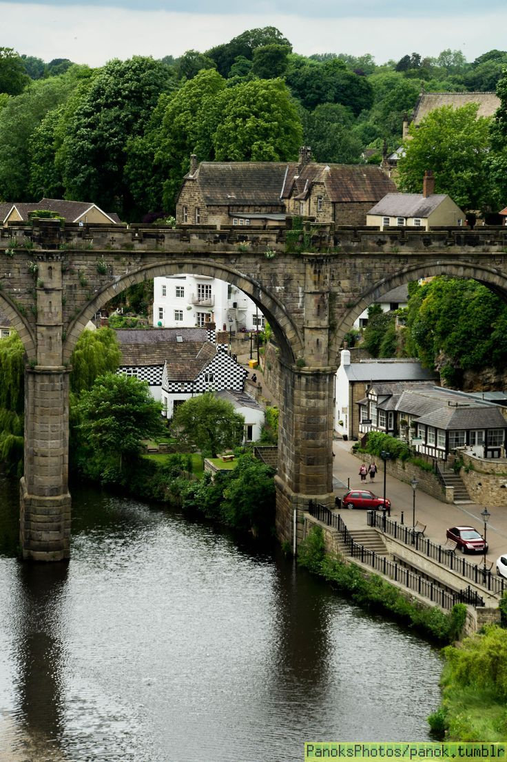 Knaresborough, Yorkshire, UK, one of the most picturesque villages in the UK