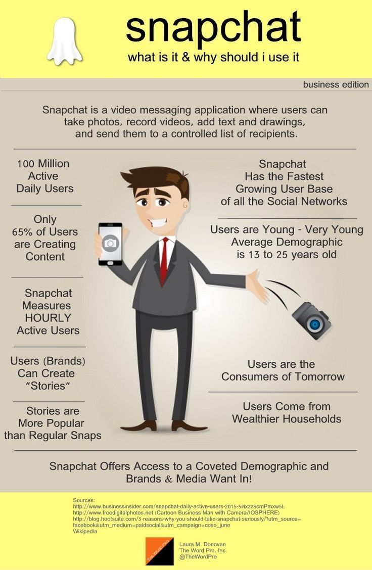 SnapChat: What It Is and Why You Should Use It for Business   #snapchat #marketing #socialmedia