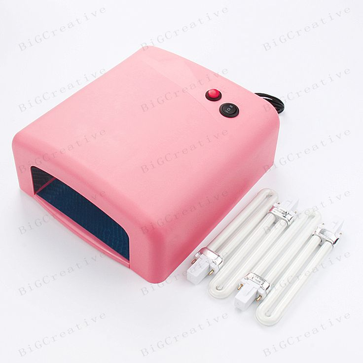 1 Pcs Batter material uv lamp 120s 36w 220V nail art LED uv lamp gel curling+4 x 9W lamps for drying nail polish