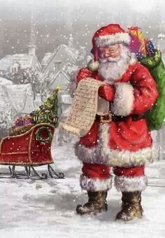 For some reason I find 90% of Santa pictures strange-looking. This Santa is great!