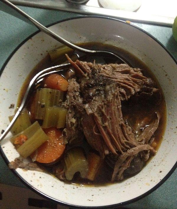 Slow Cooked Chuck Steak Recipe - Eat Keto