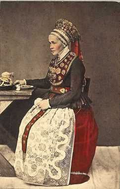 Bride from Jolster; date unknown (1819-1900)