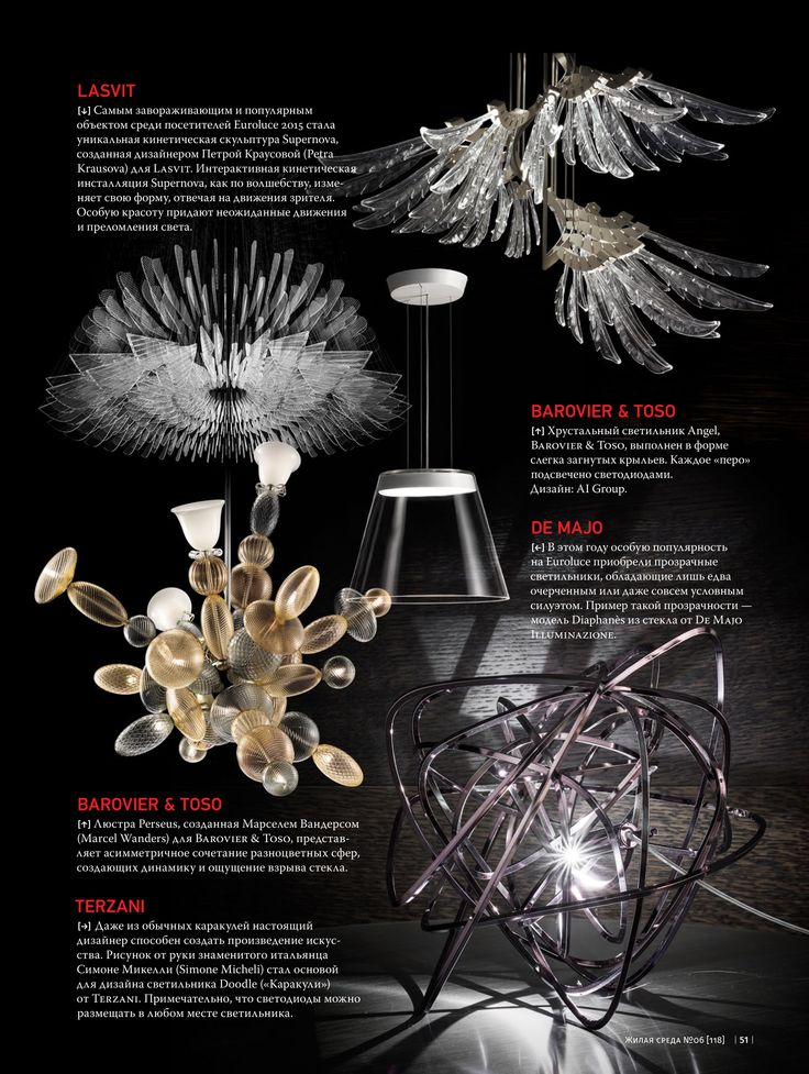 de Majo's #Diaphanès collection presented to Russian market as one of the best lighting products of the year  #livingspacemagazine #deMajo #interiordecor #ledlights #ledlighting #design