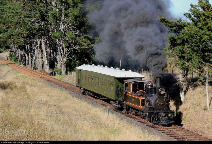 507 Glenbrook Vintage Railway Steam 2-4-0T L class at Waiuku, New Zealand by John Russell