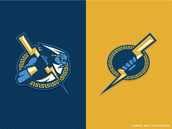 great take on some sport teams logos