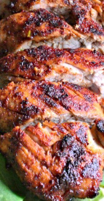 Grilled Brown Sugar Chili Pork Tenderloin   Recipe   Pork Tenderloin ...