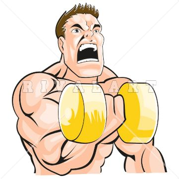 17 best awesome weight lifting clip art images on pinterest rh pinterest com clipart muscle man muscle clipart free