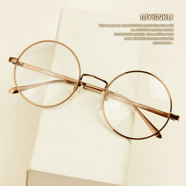 New Myopia Glasses Frame Plain Mirror Small Round Frame Men Women Fashion Eyeglasses oculos de grau-in Eyewear Frames from Men's Clothing & Accessories on Aliexpress.com   Alibaba Group