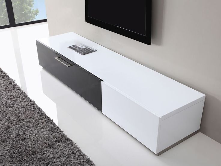 Producer TV Stand in White High Gloss by B Modern. 43 best TV Stands by B Modern Furniture images on Pinterest