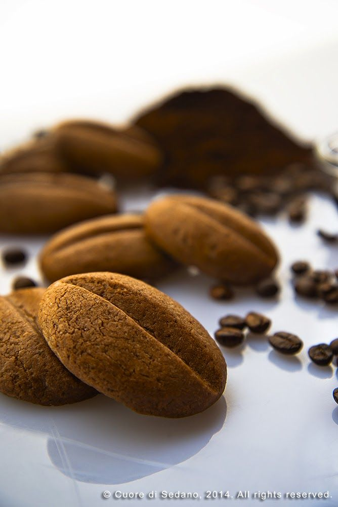 Biscottini Chicchi di Caffè al Cioccolato - Cuore di Sedano