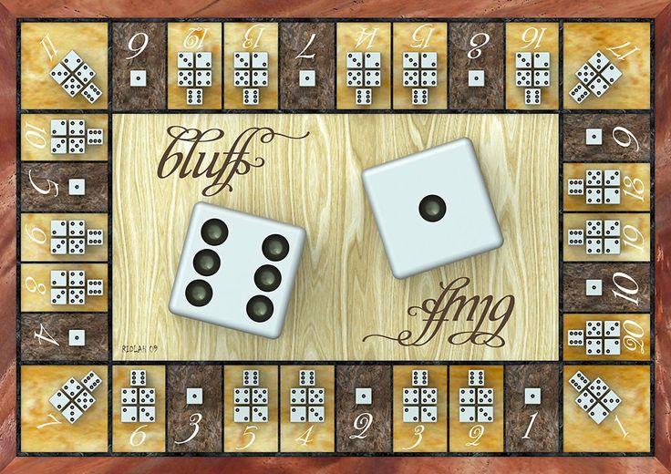 Bluff Board Game - semedesignlab Redesign of board game Bluff..