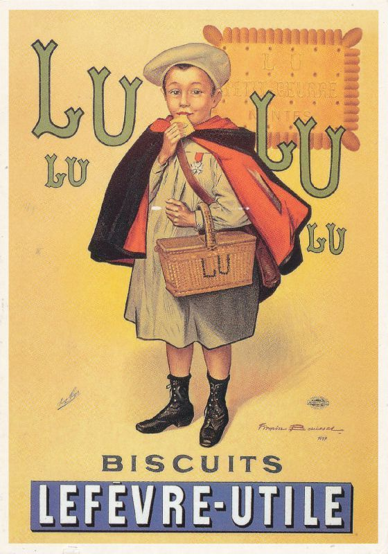 pub l 39 atelier de jojo les affiches publicitaires pinterest publicit s vintage biscuits. Black Bedroom Furniture Sets. Home Design Ideas