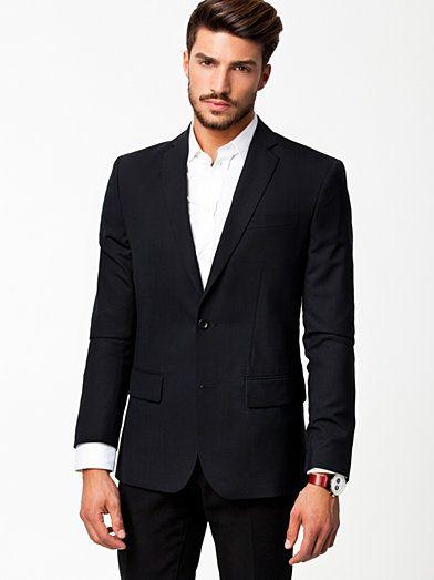 M. Tom Cool Wool Jacket - Filippa K Basics - Navy - Kavajer - Kläder - Man - NlyMan.com