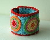 Crochet Cuff Bracelet no.4