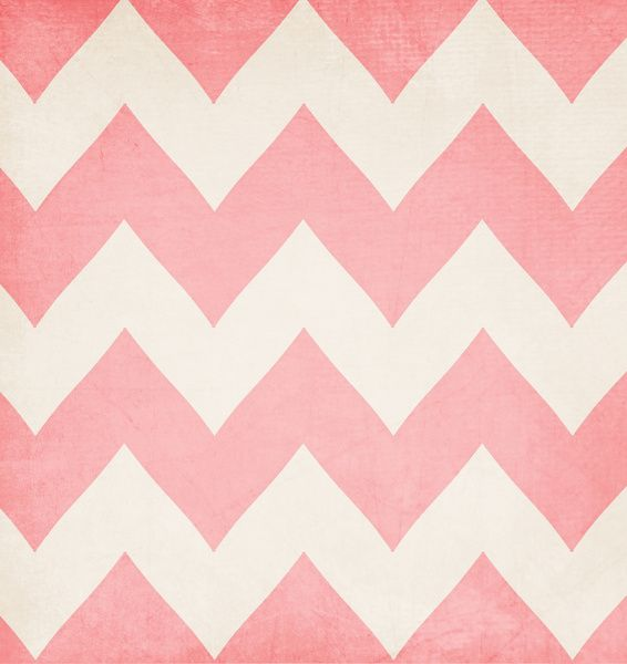Pink Chevron wall, just add those sparkly thingies into the white paint!!