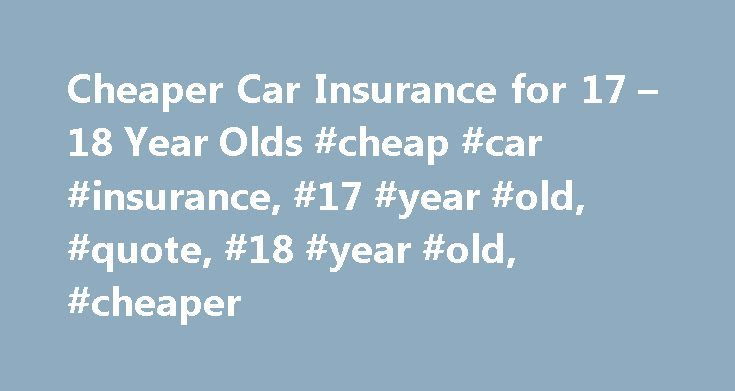 Can  Year Olds Get Car Insurance