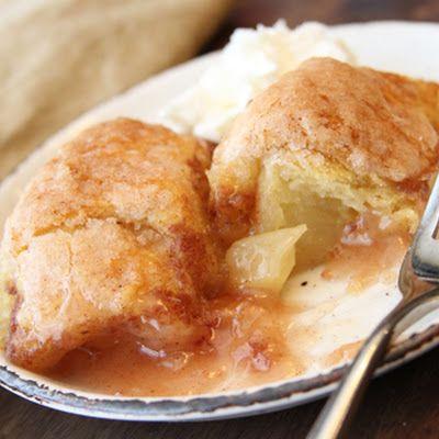 Southern Apple Dumplings @keyingredient