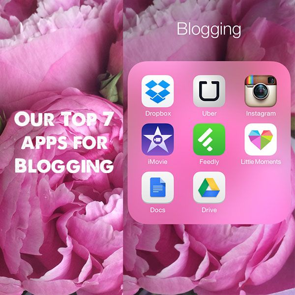Mr and Mrs Romance - top 7 apps we use for blogging