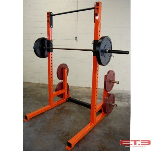 90 best home gym images on pinterest rowing machines for Make a squat rack at home